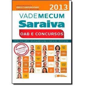 Vade Mecum Saraiva 2013 Oab E Concursos