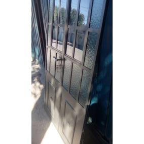 Puerta Mampara Doble Vidrio Repartido . 1.40 X2.00