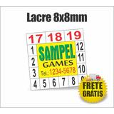 3.000 Lacres De Garantia Para Celular - Quadrado 8mm Frete G