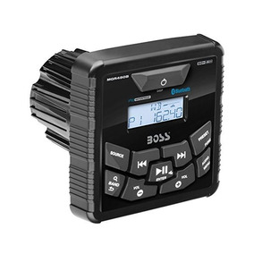 Marina Estéreo Boss Audio Mgr450b En El Tablero, Indicador M
