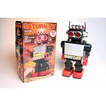 Robot Saturn Juguete Vintage Coleccion Unicos,