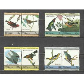 Coleção Tuvalu Mnh Pássaros