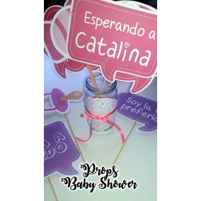 12 Props Para Baby Shower Cumpleaños Bautismo