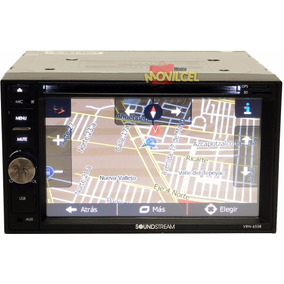Autoestereo Soundstream Gps Dvd Pantalla Lcd Touch Bluetooth