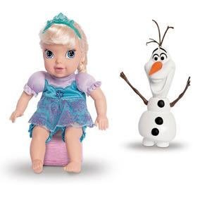 Conjunto De Bonecas - 30 Cm - Disney - Frozen - Elsa E Olaf