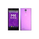 Smartphone M4 Soul 8gb Cámara 8mp Full Hd Morado