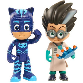 Pjmasks Catboy And Romeo Muñecos Originales Pj Masks