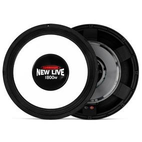 Sub Woofer Tomahawk New Live 18 Pol 1800w Rms - Nf Garantia