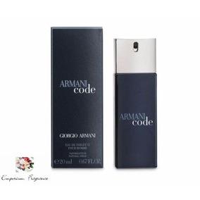 Armani Code Homme Masc.20 Ml-original-lacrado-frete Grátis