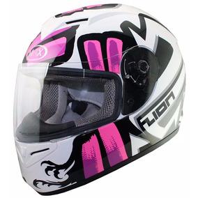 Casco Mujer Dama Rosa Max V121 Integral - Sti Motos