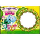 Banners Infantiles,canciones Del Zoo,gigantografias,120x85
