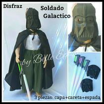Disfraz Nene: Soldado Galáctico 3 Piezas