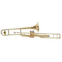 Trombone De Pisto Hoyden Httb-25l Longo Si Bemol Laqueado