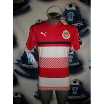 Jersey Oficial Entrenamiento Puma Chivas Roja 2016-2017