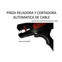 Pinza De Corte Y Pelar Cable Cal, 10 Al 24 Awg Qwsc-104