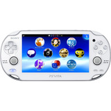 Ps Vita Blanca Original Wifi Pantalla Tactil Camara Ar Cards