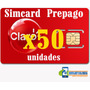 Simcard 4g Claro Preapago Distribuidor Negocio X Mayor