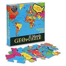 Juego Geotoys Geopuzzle Mundial (edición En Español) - Educ