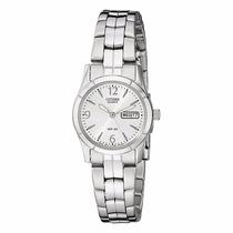 Reloj Citizen Ladies Quartz Eq0540-57a Con Fechador