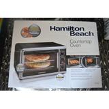 Horno Eléctrico Hamilton Beach 2 Pizzas De 30 Cms.