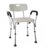 Cadeira Com Encosto E Braço Para Banho Idosos E Deficientes