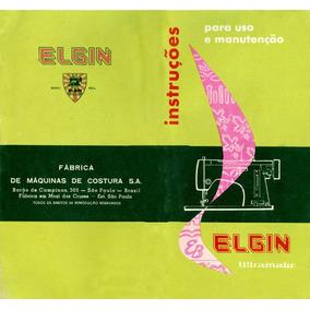 Manual Máquina De Costura Elgin Ultramatic Pdf