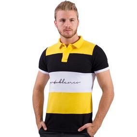 Camisa Polo Porto Blanco Algodon Hombre Alemania Ple-252