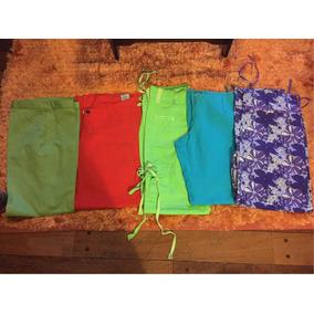 Lote De 5 Pantalones Casual Impecables Poco Uso
