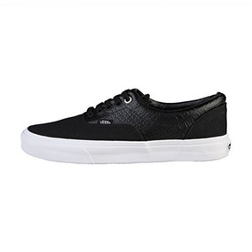 6685b485b9a7b2 Zapatos Hombre Vans Unisex Era (croc Leather) Black 812