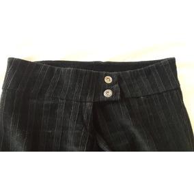 Pantalon Ossira Negro Corderoy T24, Con Poco Uso!!lindoooo!