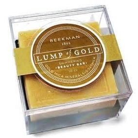 Beekman 1802 Lump Of Gold Shimmer Beauty Bar 8 Oz.