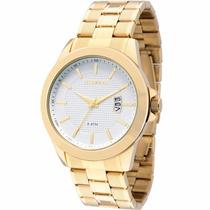 Relógio Technos Analógico Todo Dourado Masc. 2115knn/4k