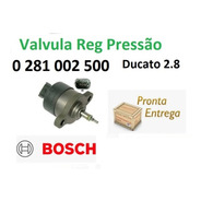 Válvula Reguladora Bomba Ducato 2.8 0281002500