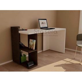 Repisa de madera moderna muebles para oficinas en - Mueble escritorio moderno ...