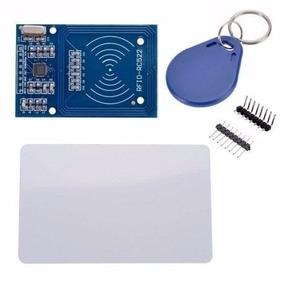 Rfid Rc522 + Cartão + Tag Mifare 13.56mhz - Kit Arduino
