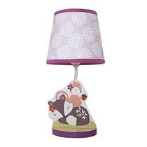 Bedtime Originales Lavanda Lámpara De Woods Con La Cortina