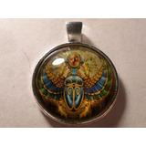 Pingente Escaravelho Egípcio,simbolo Da Ressurreição