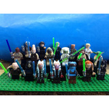 Set Star Wars Jedis Jedi Yoda Unduli Shaak Ti Secura Lego