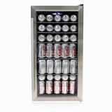 Whynter Br-125sd Refrigerador De Bebidas, Acero Inoxidabl...