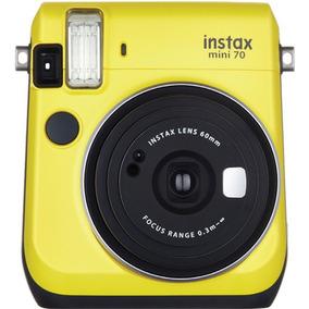 Fujifilm Camara Instantanea Instax Mini 70 Amarillo - (ml)