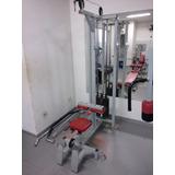 Vendo Lote De Máquinas Profissionais De Musculação Usadas