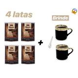 Marita Café 3.0 Café 4 Latas + 1 Colher E 2 Xícaras Grátis