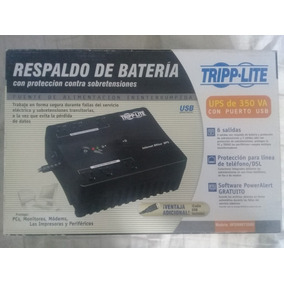 Regulador Nobreak Tripplite 120v 350va 180w Ultracompact Usb