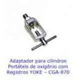 Cilindro Oxigênio Aluminio Yoke - Adaptador
