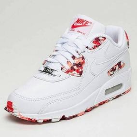 0deb0e6321 nike air max 90 feminino branco com flores