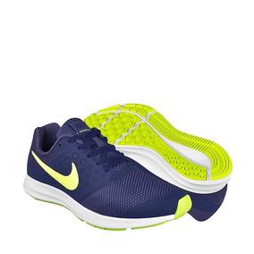 Tenis De Entrenamiento Nike Para Mujer Textil Marino 8699694
