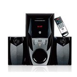 Mini System Speaker 2.1 Bluetooth Sd Usb 44w Rms Sp-365b