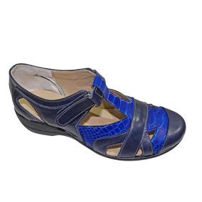 Sandalias Cuero Cerradas - Calzados Union