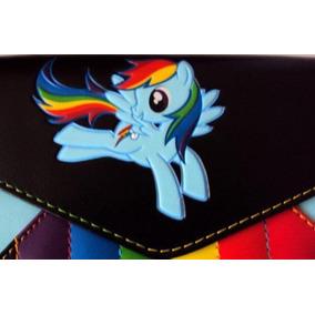 Mi Pequeño Pony Cartera Tipo Sobre Rainbow Dash Nueva