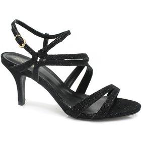 Sandália Zariff Shoes Glitter   Zariff